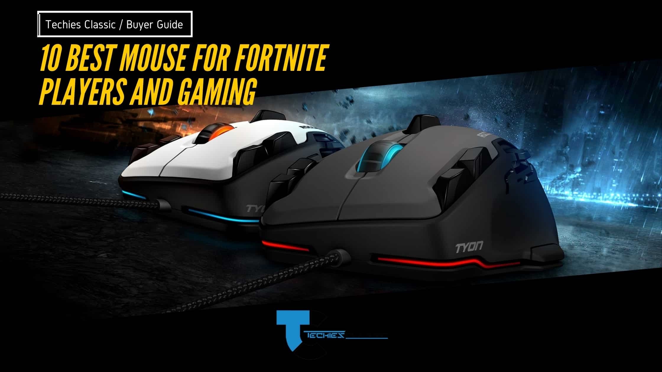 10 Best Mouse For Fortnite Players And Gaming
